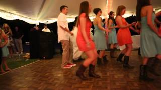 """Country Girl (Shake It For Me)"" Wedding Line Dance"