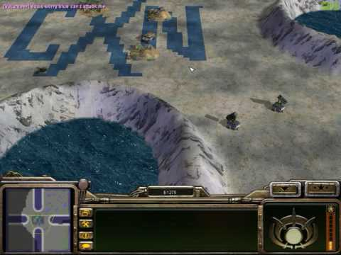 2v2 CXN - using scud bug for AODers [Command And Conquer Generals Zero Hour Multiplayer]
