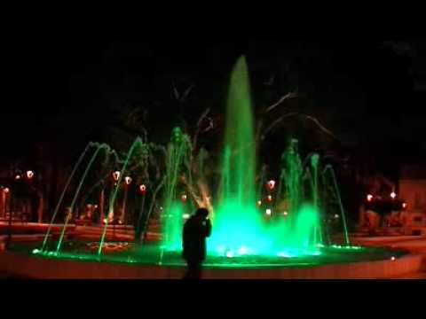 [Fuente musical / Music fountain] - Parque Hernández (Melilla) - Etnico ma non troppo
