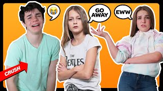 BEING MEAN To My CRUSH To See How He Would React PRANK **GONE WRONG**| Sophie Fergi