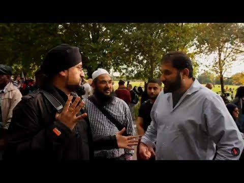 A Sikh Confronts A Muslim On The Hindu Holocaust | Full Video | Speakers Corner
