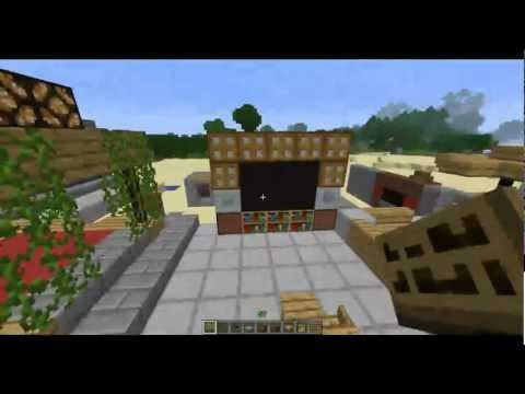 Minecraft tutorial muebles y decoracion doovi for Como hacer muebles en minecraft