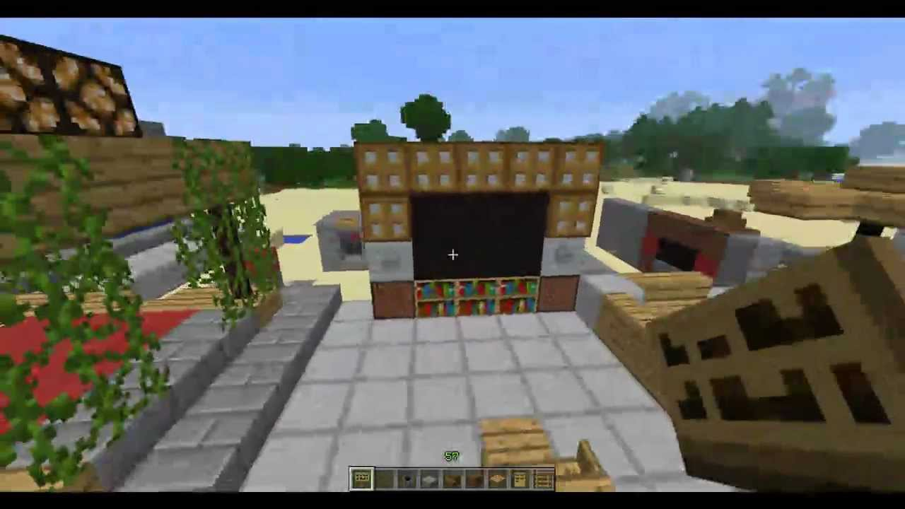 Decoraciones en minecraft 1 cap youtube - Decoraciones para casas ...