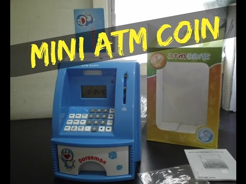 Unboxing ATM Piggy Bank Coin Machine