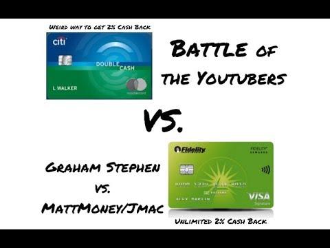 BEST CASH BACK CREDIT CARD?! Fidelity Rewards Visa Vs. Citi Double Cash   Is Graham Stephen Wrong?