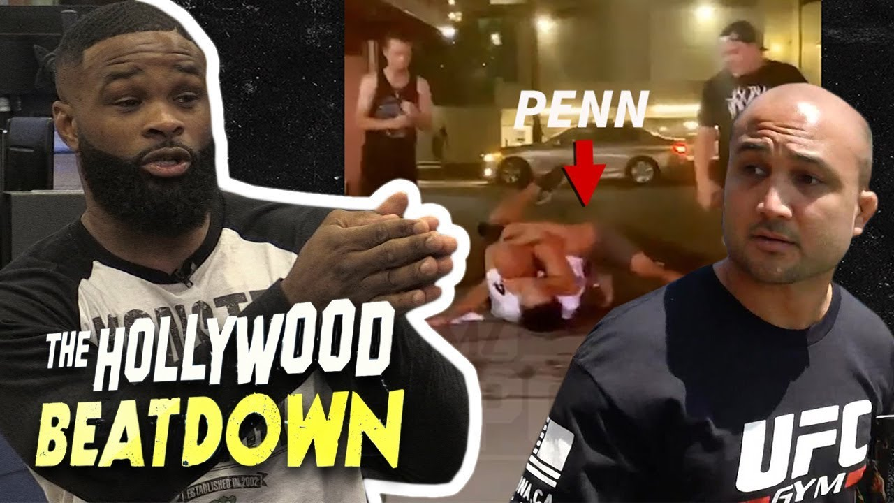 UFC legend BJ Penn gets knocked out in wild bar fight