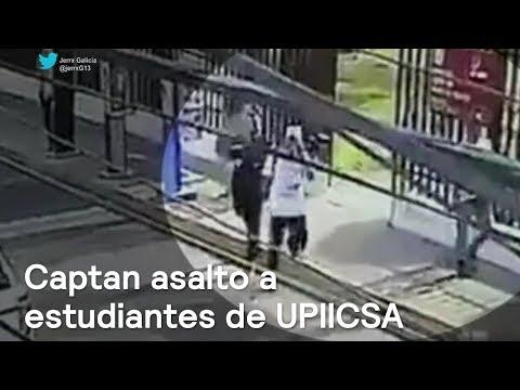 Captan asalto a estudiantes de UPIICSA, en Iztacalco - Las Noticias con Danielle
