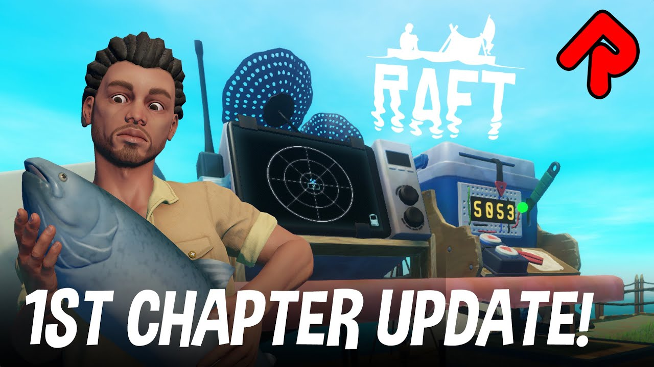 Using SECRET CODES to Find Locations! | RAFT First Chapter gameplay ep 1 (Huge Update!)