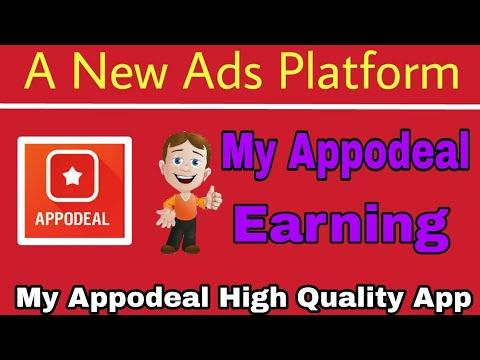 My Appodeal Earning And Appodeal Earning App