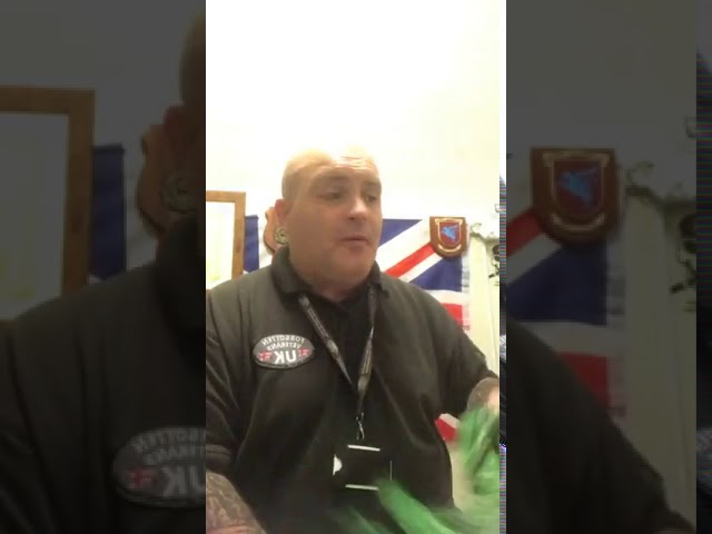Forgotten Veterans UK - short introduction and shout out with thanks from Street Friends!