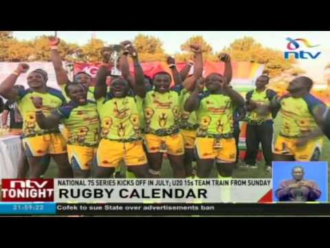 National 7s series kicks off in July; U20 15s team train from Sunday