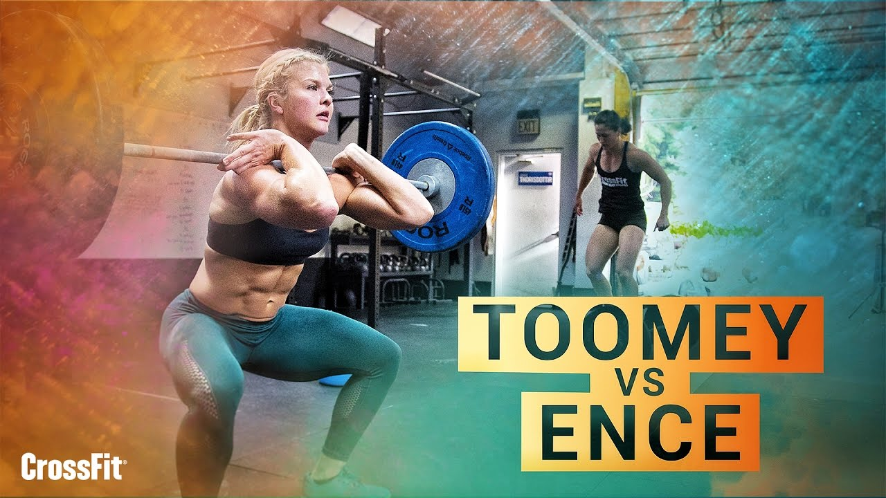 Tia and Brooke Go Head-to-Head on Today's Workout