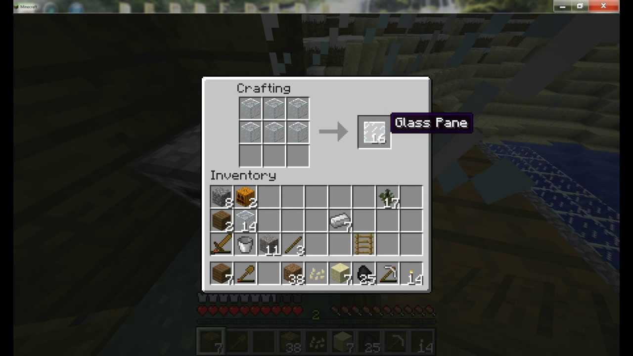 how to craft glass panes minecraft how to make glass block and glass pane in 6768