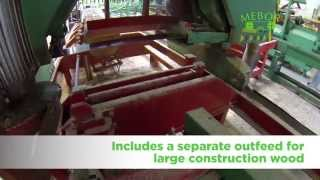 Mebor Sawmill Line, Large & Automated