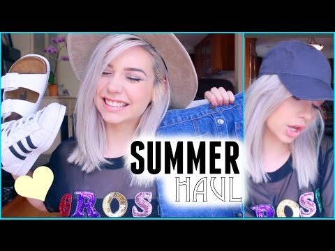 Summer Clothing Haul! ☀️ || 2015 from YouTube · Duration:  8 minutes 4 seconds