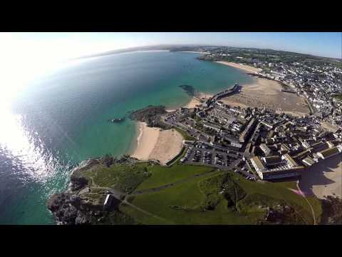 St Ives 2015 From the Air