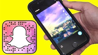 How To Use Snapchat Sky Filters + Context Cards-Update 10.18.0 | Snapchat Hacks