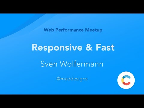 Responsive and Fast by Martin Sonnenholzer (Web Performance Group Berlin)