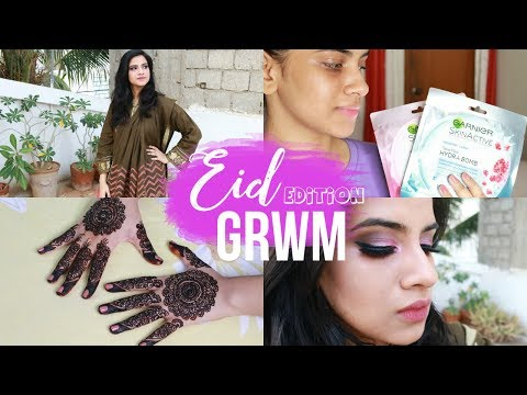 Get Ready With Me For Eid: Prep, Makeup And Outfit | Jadirah Sarmad