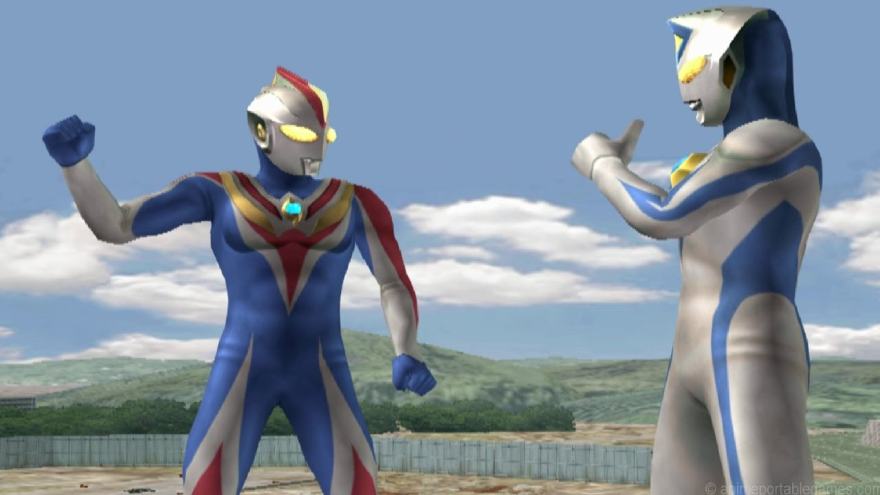 Ultraman Cosmos Future & Dyna Miracle