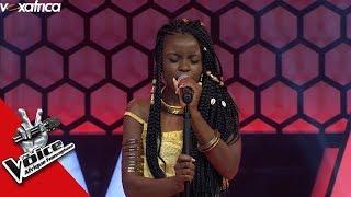 Michelle Durelle ' Ancrée à ton port ' Fanny Audition à l'aveugle The Voice Afrique francophone 2017