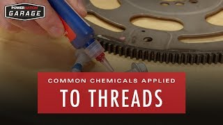 Common Chemicals That Are Applied To Threads