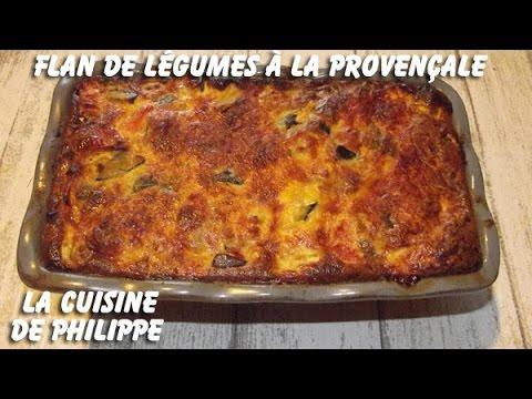 flan-de-légumes-à-la-provençale