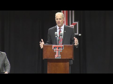 Texas Tech welcomes coach Matt Wells
