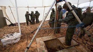 """شاهد: إسرائيل تعثر على النفق السادس والأخير والأكبر لحزب الله وتعلن انتهاء """"درع الشمال""""…"""