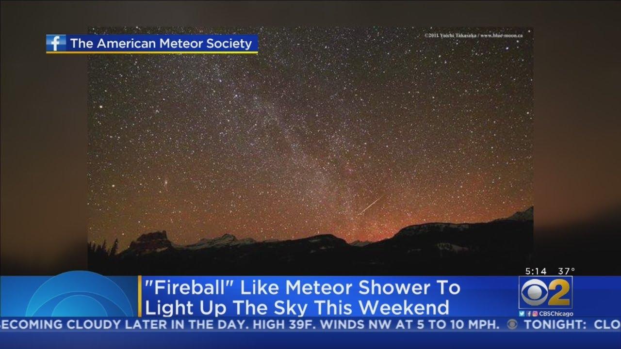 NASA spots fireballs from Lyrid meteor shower 2020 (video)
