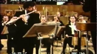 Galway Rodrigo Concierto Pastorale PREMIERE 1979
