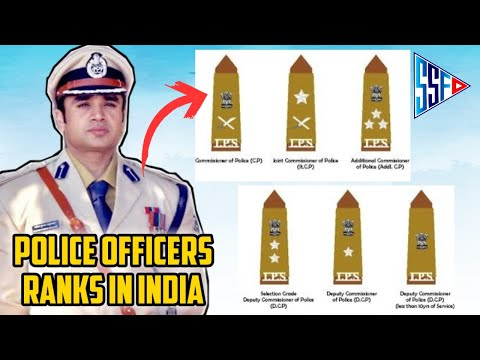 Police Officers Ranks in India