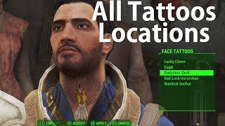 Fallout 4 All Tattoos Locations All Taboo Tattoos Magazines Locations