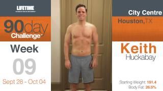 Keith Huckabay Lifetime 90-Day Body Transformation Challenge