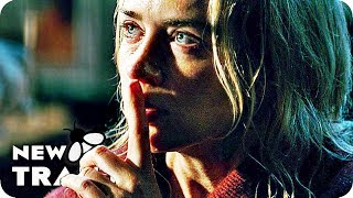A Quiet Place Clips, Featurette & Trailer (2018) Horror Movie