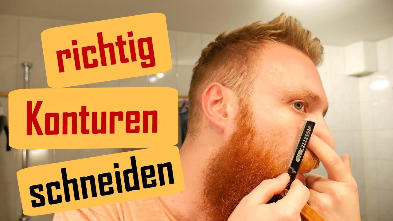 Vollbart Konturen rasieren | Anleitung | Schritt für