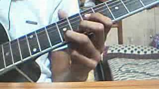 tutorial for tujhe dekha toh yeh jaana sanam- for begginers on guitar