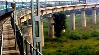 Full Journey Uttar Sampark Kranti Express New Delhi-Udhampur Rail Road !!!