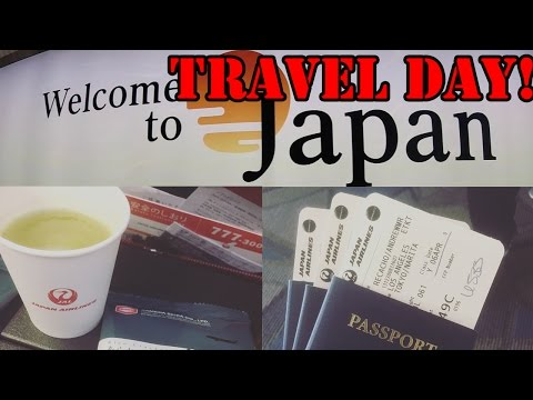 Japan Travel Day! (GoPro)