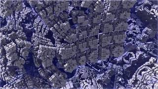 フラクタル図形は拡大しても縮小しても同じような形が現れます。 どれだけズームをしてもどんどん形が現れる不思議な図形です。