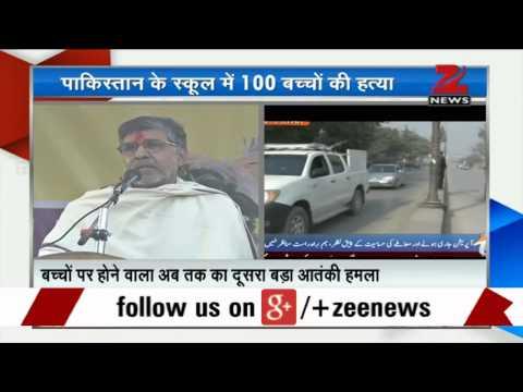 Kailash Satyarthi condemns Peshawar attack, urges Taliban to release students