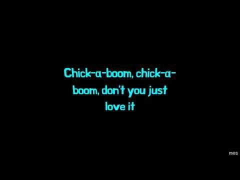 Chick-A-Boom   Daddy Dewdrop   Lyrics ☾☀