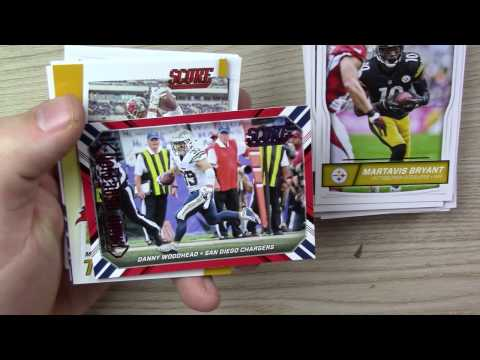 2016 Score Football Rack Pack Break #05 10/22/16