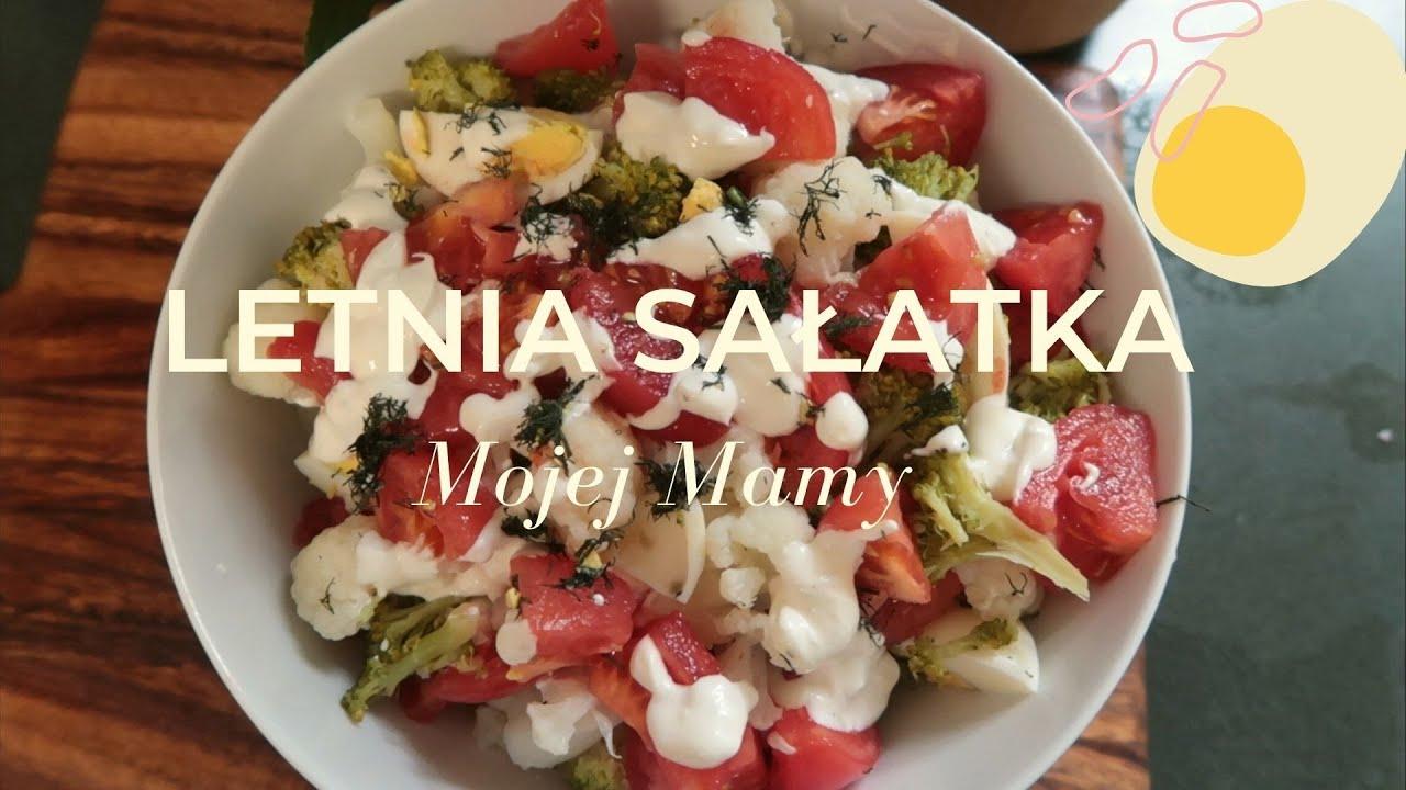 Letnia sałatka z kalafiora | Przepis na sałatkę