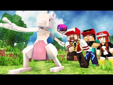 Minecraft : POKÉMON SAFARI #1 - UMA NOVA AVENTURA?! QUEM É O MAIS RÁPIDO?!