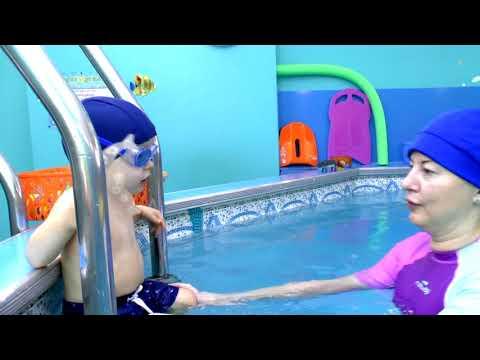 """Детский бассейн """"Барабулька"""" грудничковое плавание для детей (Андрей 1г. 8мес.)"""