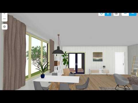 Floorplanner fly-through mode