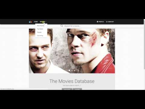 The Movies Database - SPA