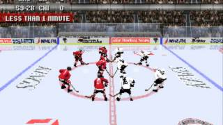 NHL 97 (PLAYSTATION) LA Kings vs Chicago Blackhawks