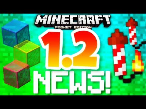 ✔️Minecraft PE 1.2 – UPDATE NEWS PT.2 | Fireworks, jukeboxes, parrots, & MORE! [MCPE 1.2]